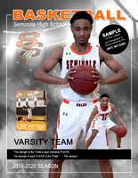 8.5x11 Composite - SHS - #11- Boys Varsity Basketball Magazine Cover - Player and Action copy