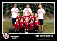 5x7 - Team Picture - Tots Earthquakes - 2014